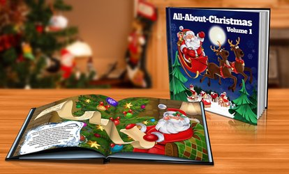image for Soft or Hardcover Personalised Children's Story Book from Dinkleboo (Up to 73% Off)