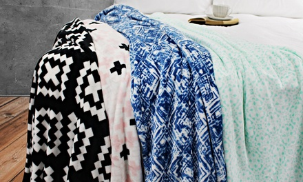 Soft Faux Mink Winter Blanket: Single ($29) or Queen/King ($39)