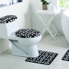 Annabelle Bathroom Set with Rugs and Washcloths (12-Piece)