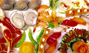 Four Seasons Buffet: Asian-Fusion Buffet for Two or Four at Four Seasons Buffet (36% Off)