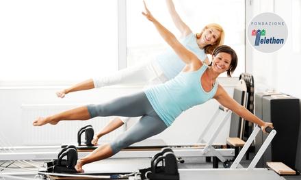 3 o 5 lezioni individuali di pilates da 50 minuti per una o 2 persone da Dott Risso Marco (sconto fino a 75%)