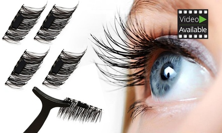 7bdd2002cd5 4, 8 or 12 Magnetic Eyelash Extensions – – Groupon Discount Coupon ...