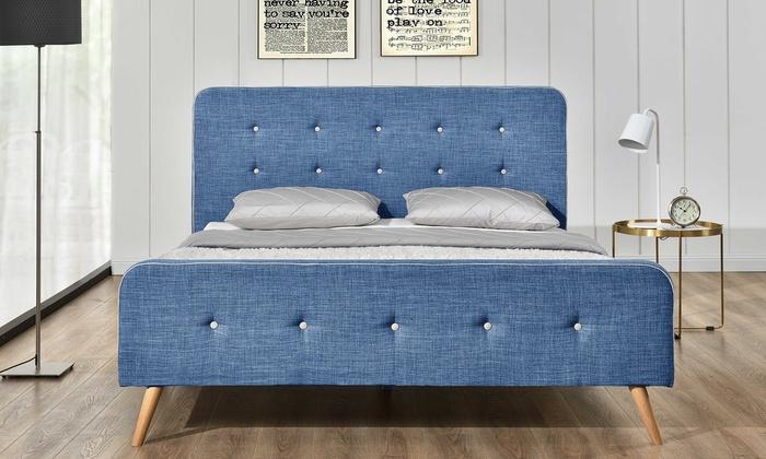 lit scandinave avec matelas en option groupon shopping. Black Bedroom Furniture Sets. Home Design Ideas