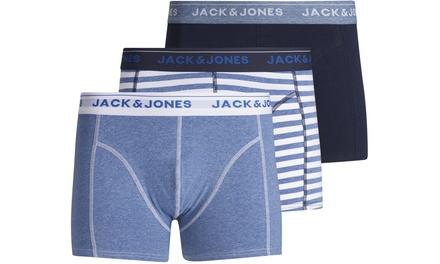 3er Pack Jack&Jones Boxer Shorts in Navy und in der Größe nach Wahl