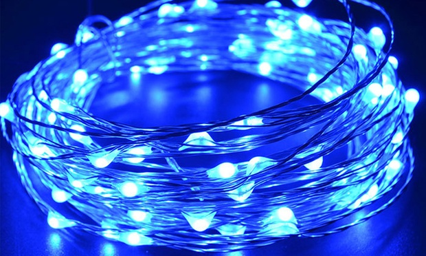 LED Copper Wire String Lights Groupon Goods