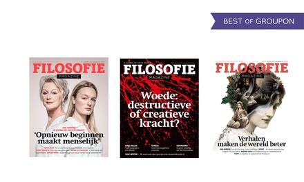 3, 6 of 10 nummers Filosofie Magazine met kado naar keuze abonnement stopt automatisch