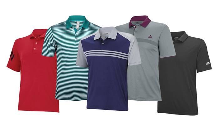 Adidas Men's Polo Shirts Mystery Deal