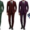 Braveman Men's Slim-Fit Suit with Free Tie