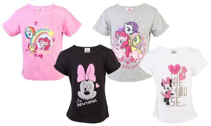 2 T-Shirt Disney per bambine