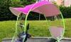 Parapluie/pare-soleil universel pour moto