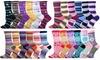 TeeHee Women's Fun Crew Socks (12 Pairs)