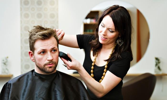 La La's Hair And Nail Studio 300 - Southeast Arlington: One or Two Men's Haircuts and Styles at La La's Hair And Nail Studio 300 (50% Off)