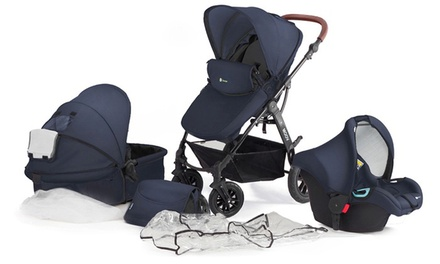 KinderKraft 3-in-1 Kinderwagen MOOV in Grau oder Navy  (Berlin)