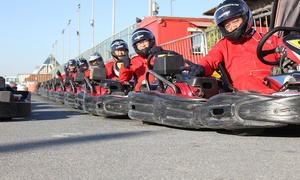 Emirates Kart Zone: 15- or 30-Minute Go-Karting Experience for One or Two at Emirates Kart Zone
