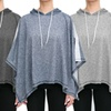 RAG Women's Terry Poncho with Hoodie
