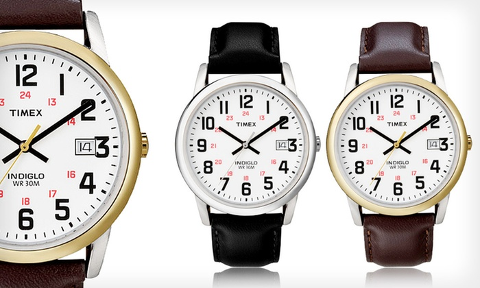 Timex Watches: $15.99 for a Men's Timex Watch ($39.95 List Price). 2 Styles Available. Free Shipping.