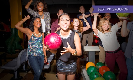 Two-Hour Bowling Outing with Shoe Rental for Two, Four, or Six at Brunswick Bowling (Up to 66% Off )
