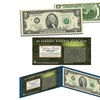 Star Note Uncirculated 2003 Minneapolis $2 Bills with Display Folio