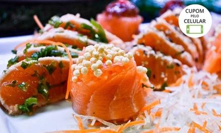 Rodízio japonês para até 1, 2 ou 4 pessoas no Bonsai Sushi – Copacabana