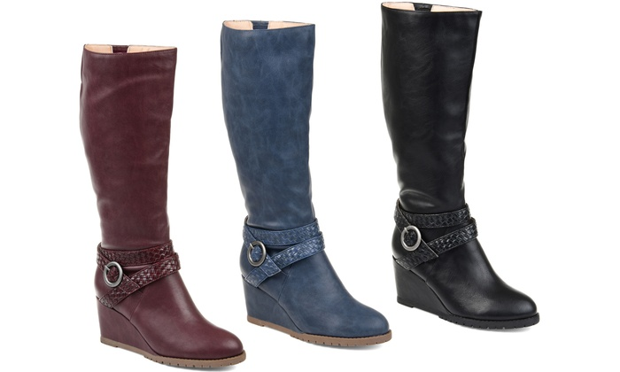 womens extra wide calf boots on sale