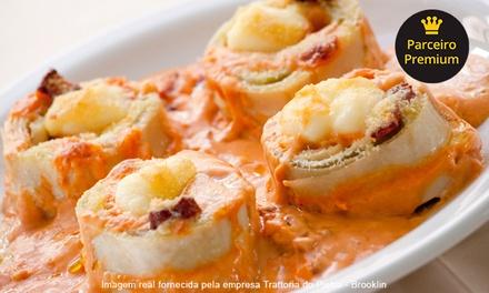 Jantar italiano com sobremesa para 1, 2 ou 4 pessoas na Trattoria do Pietro – Brooklin