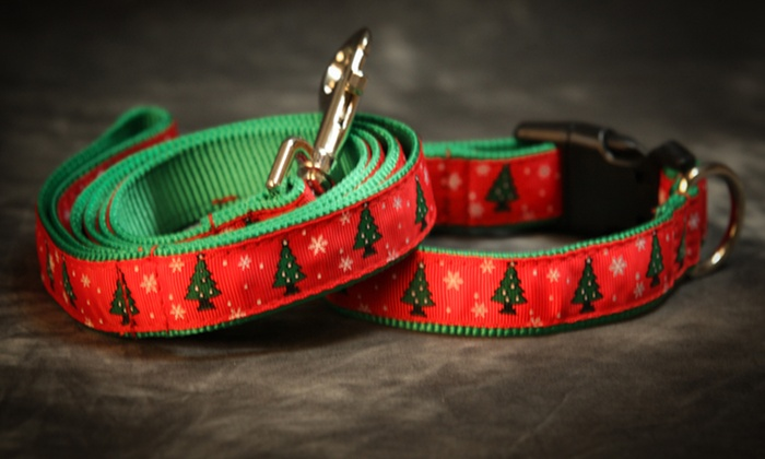 Holiday-Themed Dog Collars and Leashes: Holiday-Themed Dog Collars and Leashes. Multiple Options Available. Free Returns.