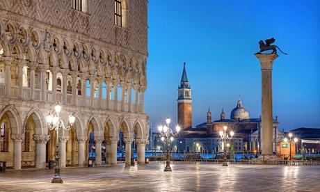 Venecia: estancia para 2 personas en habitación doble con desayuno en el Hotel Rivamare