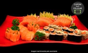 Aji Sushi Bar: Aji Sushi Bar - Xaxim: combinado salmão com 12, 22, 26, 39 ou 49 peças