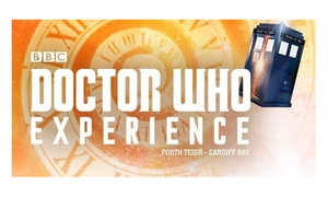 Doctor Who Experience: Entry to BBC Doctor Who Experience for a Child, Adult or a Family of Four