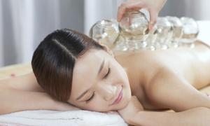 ADORA AESTHETICS: Cupping Treatment or One or Three 60-Minute Cupping Massages at Adora Aesthetics (Up to 54% Off)