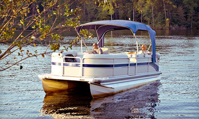 Smokey's Bait Shop - Pewaukee: Three-Hour Pontoon-Boat Rental for Up to 12 from Smokey's Bait Shop in Pewaukee (Up to 55% Off). Five Options Available.