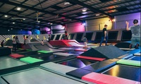Trampoline Park Entry with Grip Socks plus Meal for One, Two or Four at Jump Inc Leeds