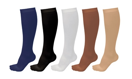 Graduated Compression Socks for Men and Women (5 Pairs)