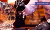 1.5-Hour Ice Sculpting Class and 40-Minute Icebar Experience for Two at ICEBAR London (35% Off)