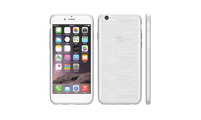Blurred silikon case f r iphone groupon for Tisch iphone design