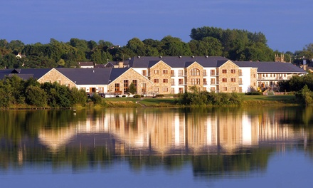 Co. Leitrim: 1 or 2 Nights for Two with Irish Breakfast, Spa Credit and Leisure Access at Lough Allen Hotel & Spa