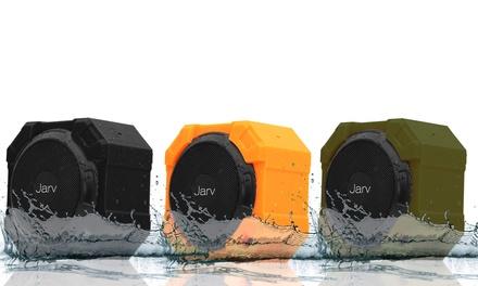 Jarv X96 Rugged Indoor/Outdoor 5-Watt Bluetooth Portable Speaker, IPX5 Rated Water Resistant, Shockproof and Dustproof