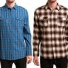 Micros Men's Flannel Button-Down Shirts