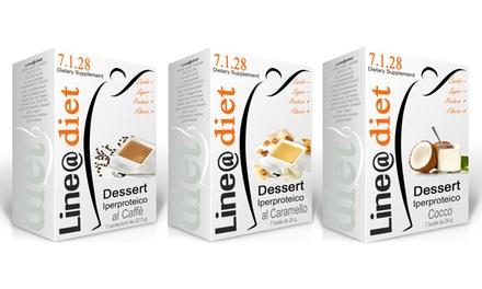 Dessert iperproteici Line@Diet