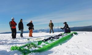 Scuola Kite Vkc: Prova simulatore o corso base con kite e trapezio con assicurazione invernale alla Scuola Kite Vkc (sconto fino a 67%)