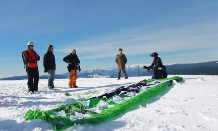 Prova simulatore o corso base con kite e trapezio con assicurazione invernale alla Scuola Kite Vkc (sconto fino a 67%)