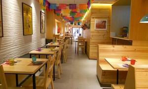 Las Adelitas: Menú para 2 o 4 con degustación de 3 entrantes, principal, postre y bebida desde 21,90 € en Las Adelitas