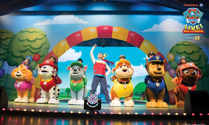Paw Patrol Live Paw Patrol Live Race To The Rescue