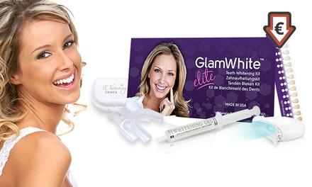 1 ou 2 kits de blanchiment dentaire GlamWhite Elite avec mini LED dès 9,99 € (jusqu'à 90% de réduction)