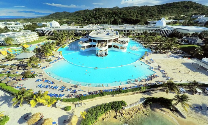 Night AllInclusive Grand Palladium Jamaica Resort Spa Stay - All inclusive vacations with air