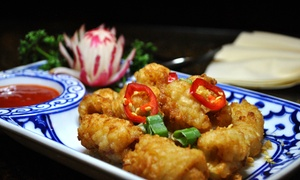 Bangkok House: Six-Plate Lunch or Ten-Plate Dinner Tasting Menu with Drinks for Two at Bangkok House (Up to 43% Off)