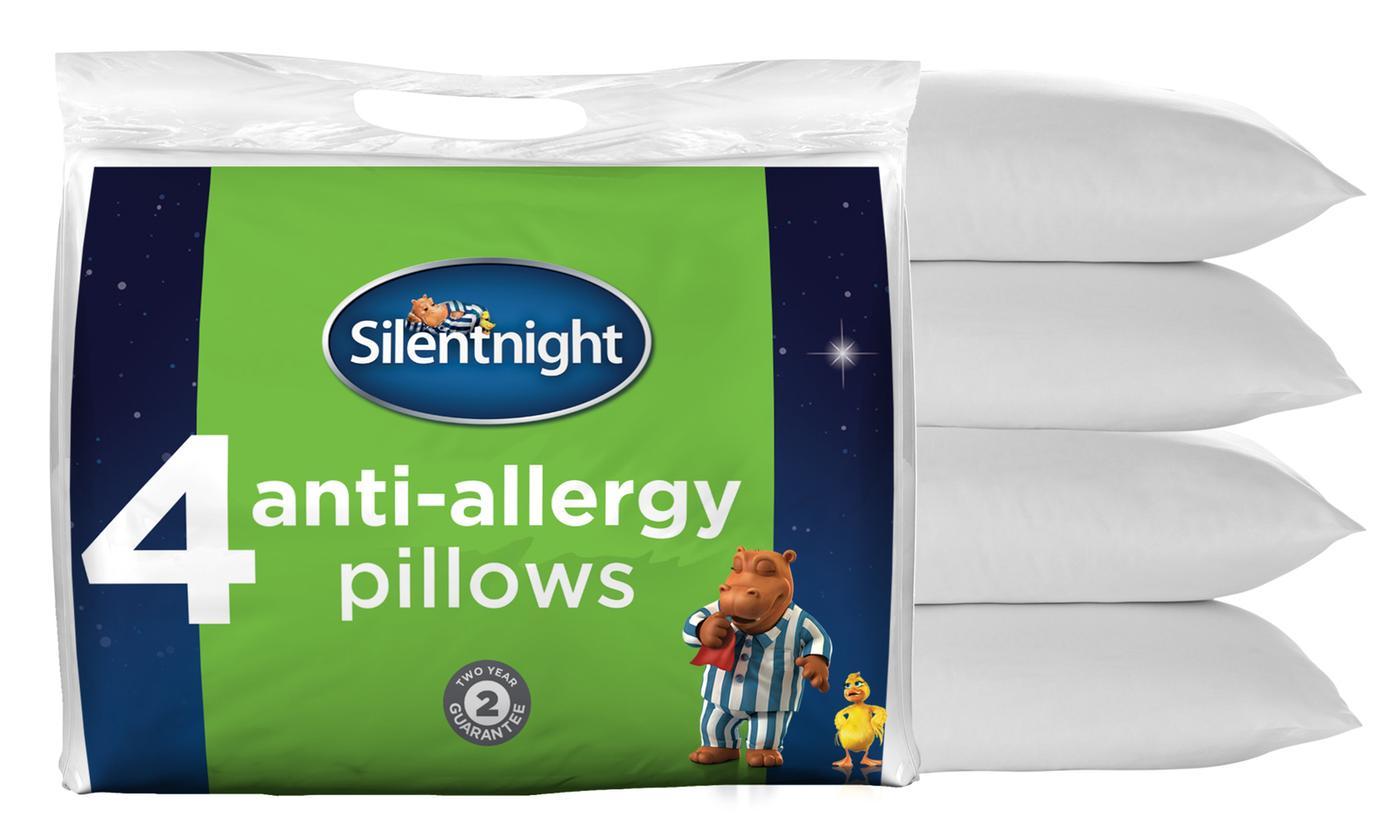 Four Silentnight Anti-Allergy Pillows