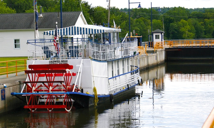 Mohawk Maiden Cruises LLC - Schuylerville: Captain's Choice Cruise for 2 or 4 or Historic Scenic Cruise for 2 from Mohawk Maiden Cruises (Up to 50% Off)