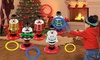Christmas Nutcracker Ring Toss Game with Four Loops