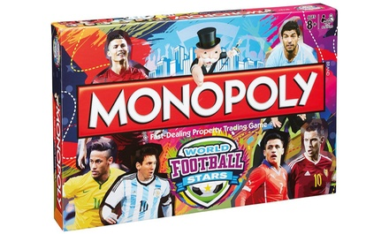 World Football Stars Monopoly Game